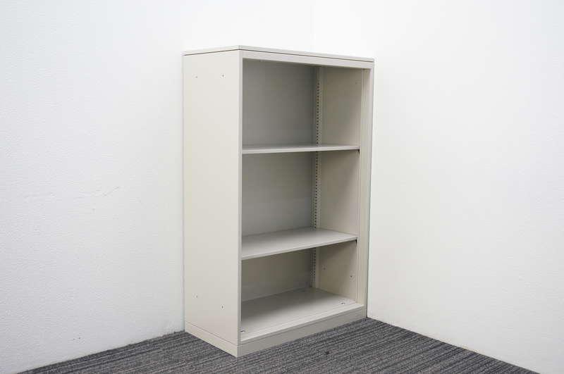 オカムラ 42-A オープン書庫 天板付 W800 D400 H1270