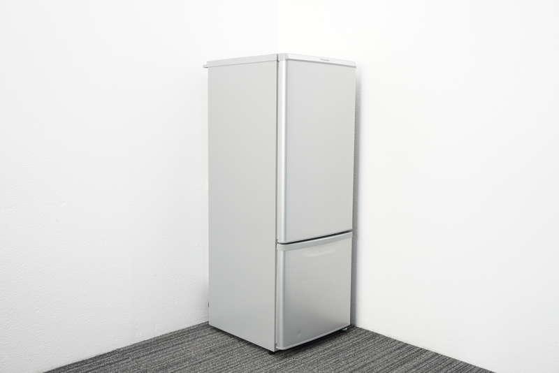 【2017年製】パナソニック ノンフロン冷凍冷蔵庫 168リットル NR-B179W-S形