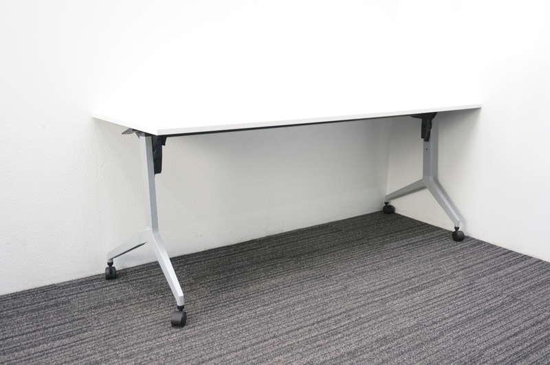 ウチダ パラグラフ フラップテーブル 1860 幕板無し 棚板無し ホワイト