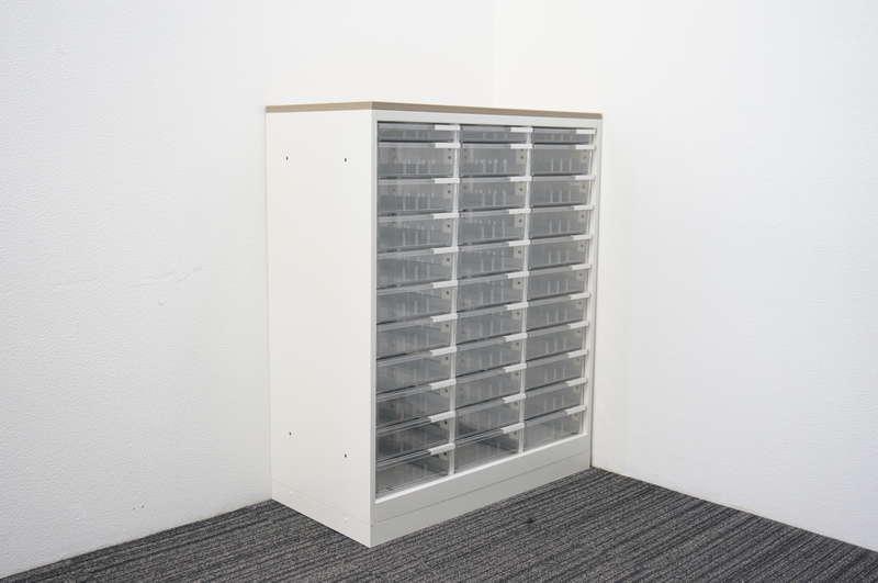 イトーキ エス 書類整理庫 3列11段 コンビ A4 天板付 H1120