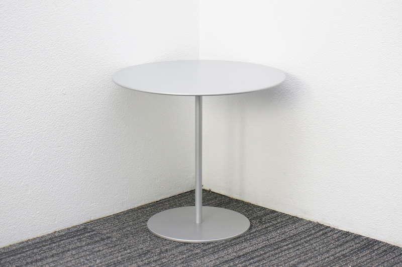 カッシーナ 丸テーブル(サイドテーブル) Φ495 H450 アルミニウム (2)