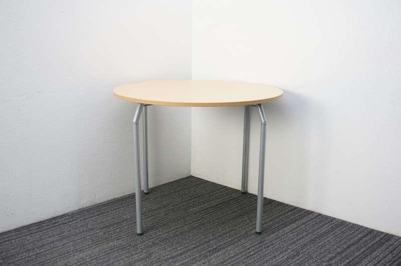 イトーキ オルノ 丸テーブル Φ900 H700 フレッシュメープルL