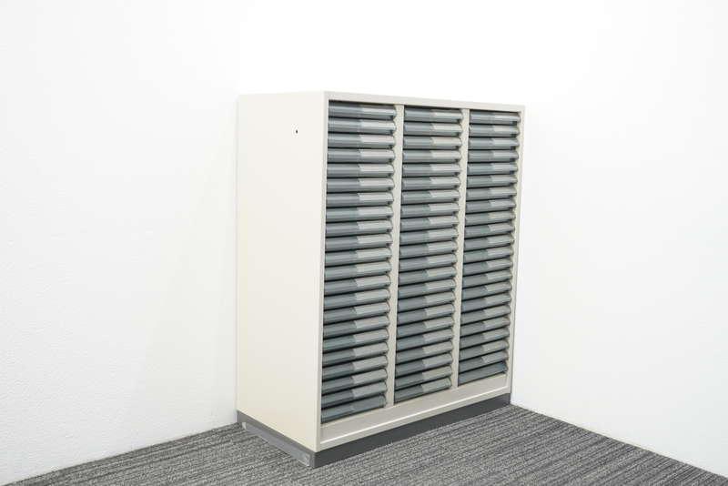 コクヨ 書類整理庫 3列22段 A4 浅型 W900 D400 H1100