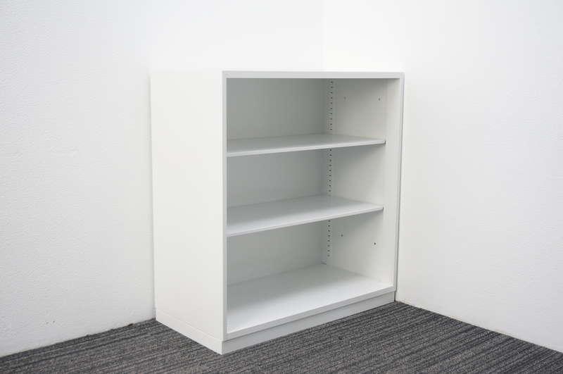 コクヨ エディア オープン書庫 H965 ダブルベース ホワイト