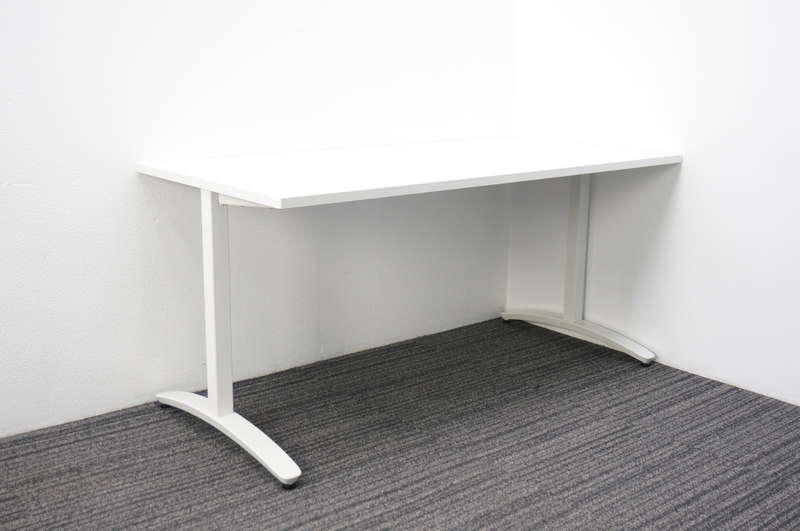 プラス ロンナ ミーティングテーブル 1575 ホワイト