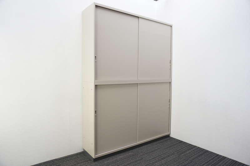 コクヨ BWS 引戸2段書庫 W1600 D400 H2140
