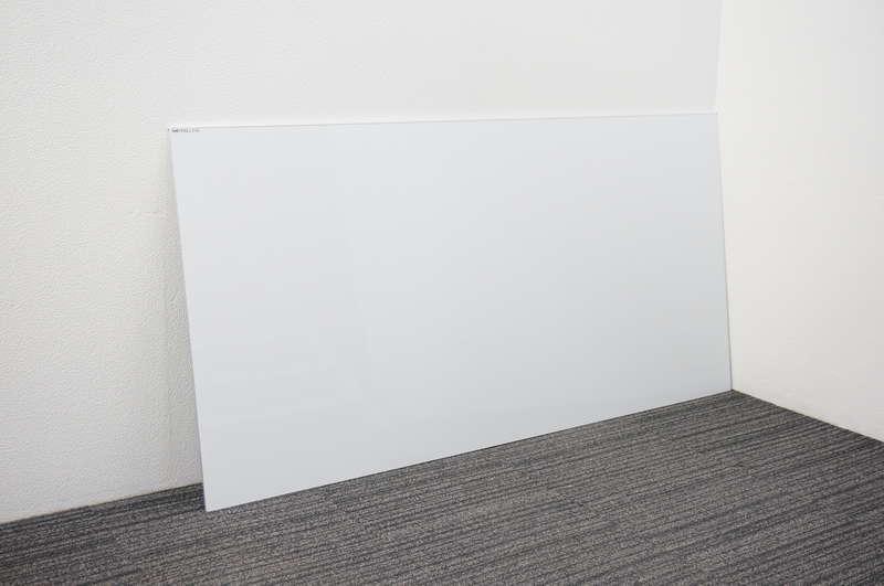 日学 メタルライン 壁掛けホワイトボード 36 無地