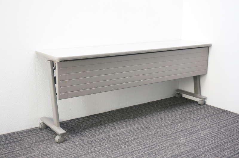 オカムラ Nタイプ フラップテーブル 1845 幕板付