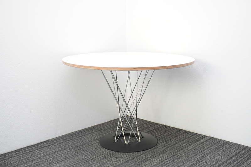 ノグチイサム ダイニングテーブル リプロダクト Φ1050 H710 ホワイト