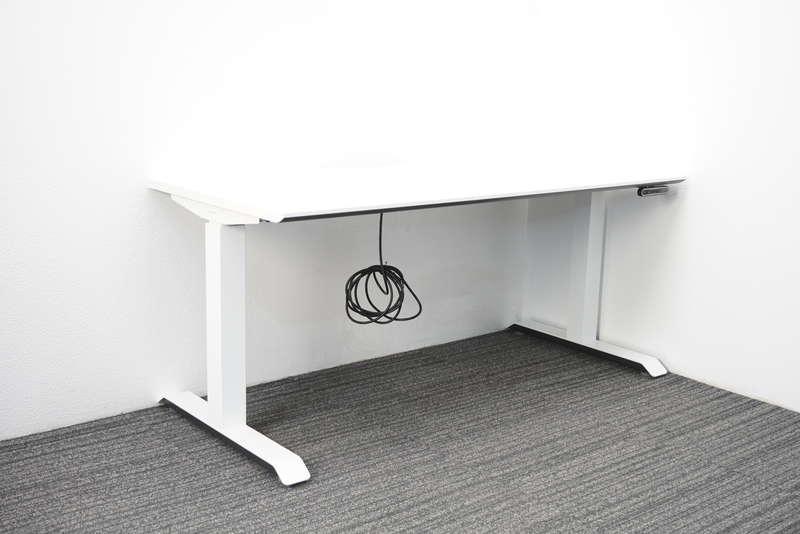 コクヨ シークエンス スタンダードテーブル 昇降タイプ W1410 D650 H630-1290