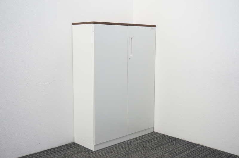 コクヨ エディア 両開き書庫 天板付 W900 D350 H1265
