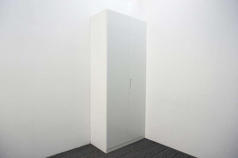 コクヨ エディア 両開き書庫 H2160 ホワイト