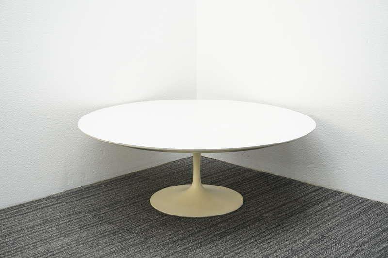 ノール(Knoll) サーリネンコレクション チューリップテーブル ローテーブル Φ1050 H380 ホワイト (2)