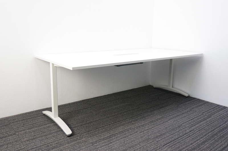 プラス ロンナ ミーティングテーブル 2110 ホワイト