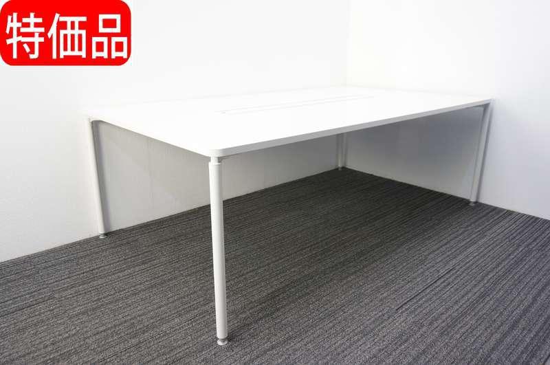 【自社便対応のみ】イトーキ コムネット ミーティングテーブル 2112 ホワイト 特価品