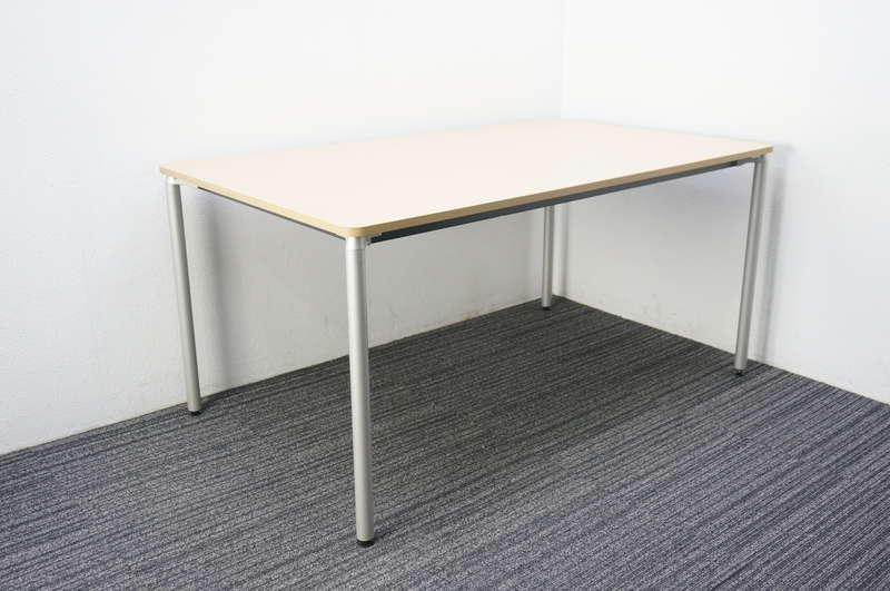 【B級 未使用品】 イトーキ DC ミーティングテーブル 1590 ファインウォールナットL