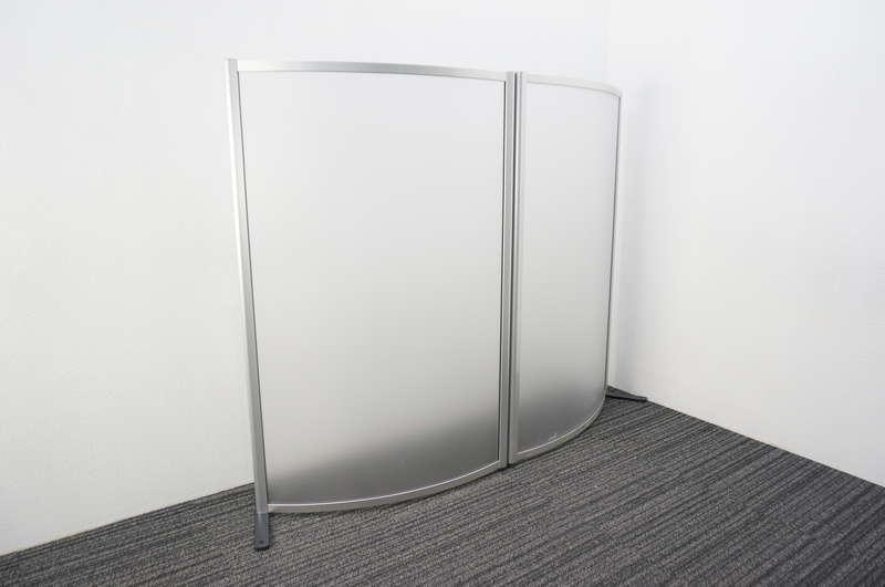 【自社便対応のみ】 イトーキ アトモススクリーン デザインアールパネル 2連樹脂パネル W1800 H1420