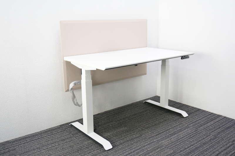 コクヨ シークエンス スタンダードテーブル(昇降デスク) W1150 D675 H630-1290 パネル付