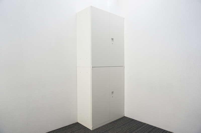 オカムラ レクトライン 両開き2段書庫 H2150 ZA75色