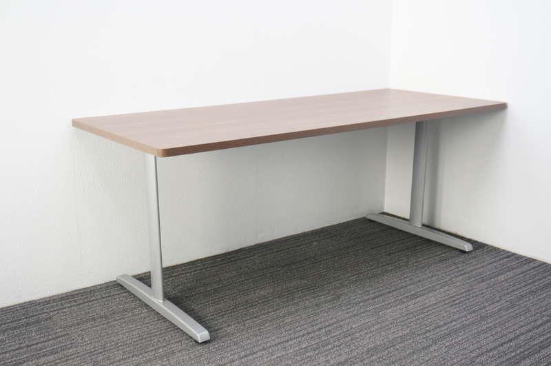 オカムラ 8177 ミーティングテーブル 1875 ネオウッドダーク