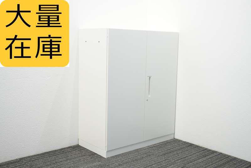 コクヨ エディア 両開き書庫 H1110 ホワイト