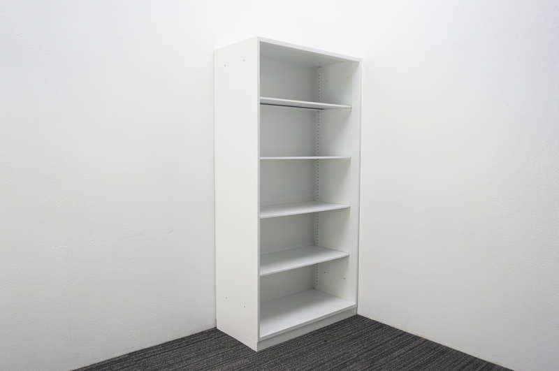 【2017年製】コクヨ エディア オープン書庫 H1810 ホワイト