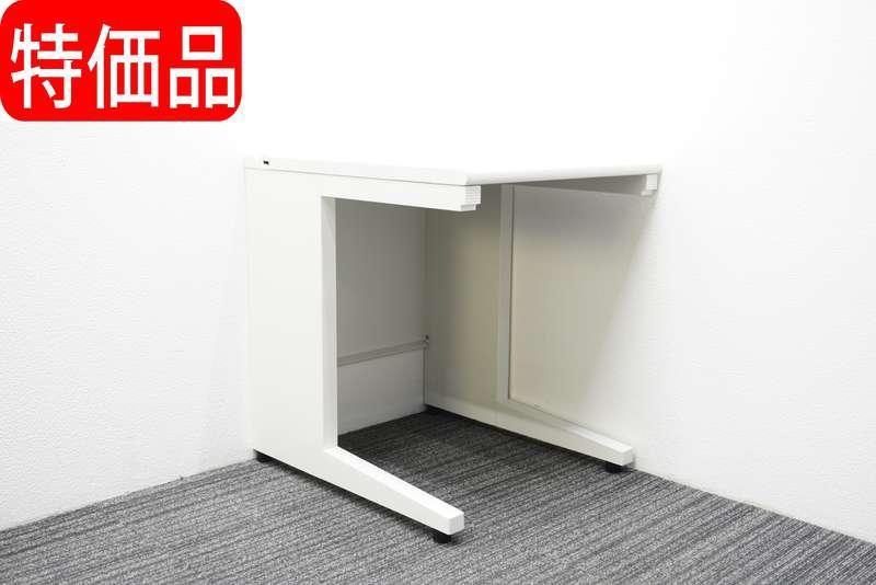 【自社便対応のみ】プラス US-1 平机 W600 D700 H720 ホワイト 特価品