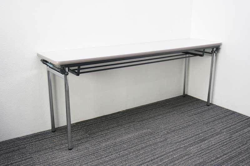 【B級 未使用品】 イトーキ TF 折りたたみテーブル 1845 ライトグレー