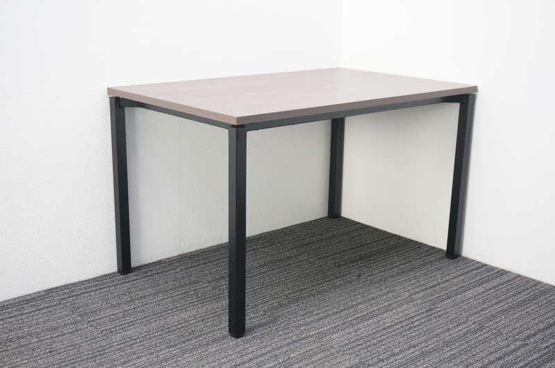 【2018年製】コクヨ ジュート ミーティングテーブル 1275 角脚アジャスター 木目