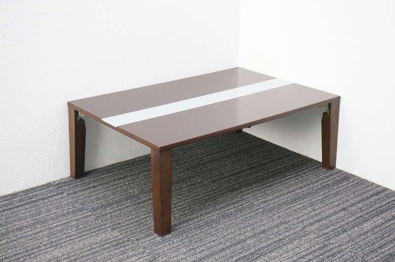 折りたたみ式ローテーブル W900 D600 H320