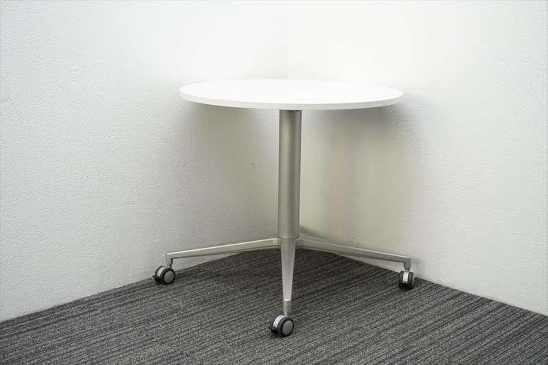イトーキ DE 丸テーブル Φ750 H700 ホワイト