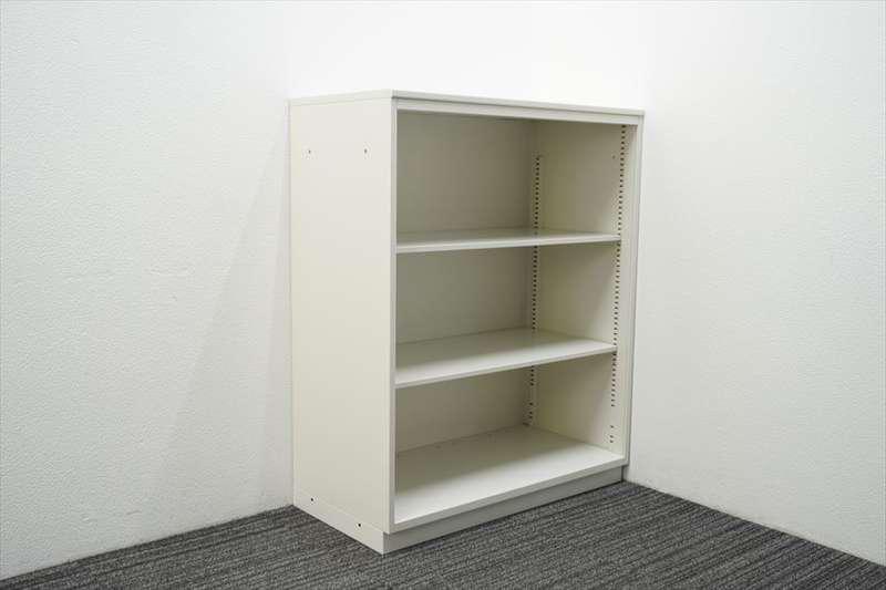 イトーキ シンライン オープン書庫 天板付 H1120 W9色