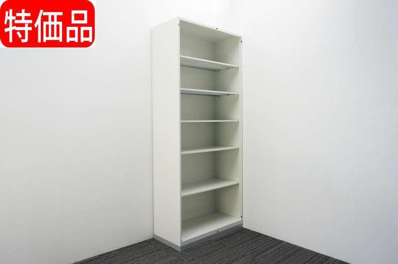 プラス L6 オープン書庫 H2150 ホワイト 特価品