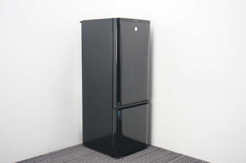 三菱 ノンフロン冷凍冷蔵庫 168リットル MR-P17EZ-KK1 2016年製 ブラック