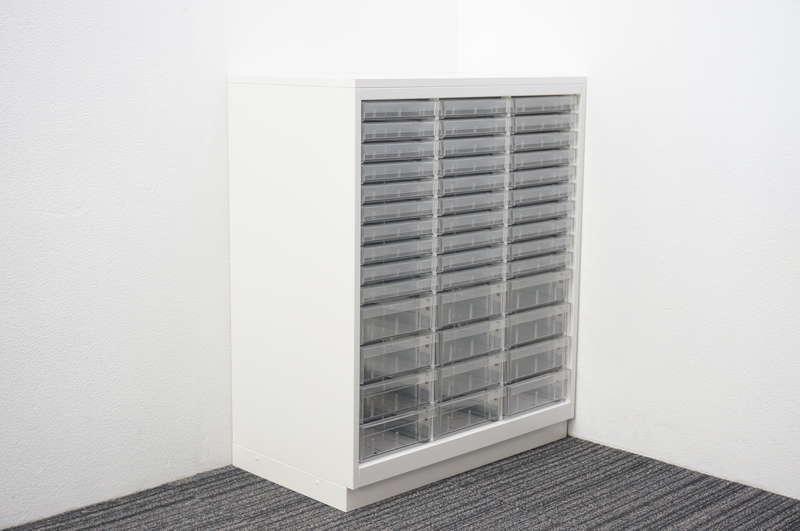 イトーキ シンラインキャビネットA4 書類整理庫 3列14段 天板付 W800 D450 H970 W9色