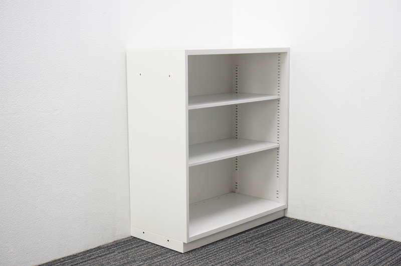イトーキ シンラインキャビネット400 オープン書庫 W800 D400 H945 W9色