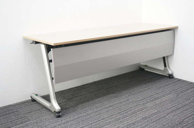 イトーキ コンシア フラップテーブル 1860 幕板付