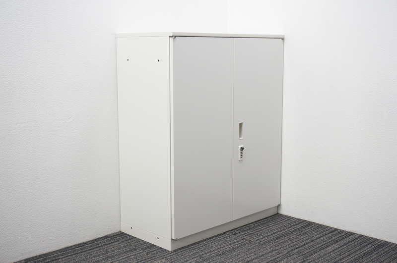 イトーキ シンライン ダイヤル式両開き書庫 天板付 H1120 W9色