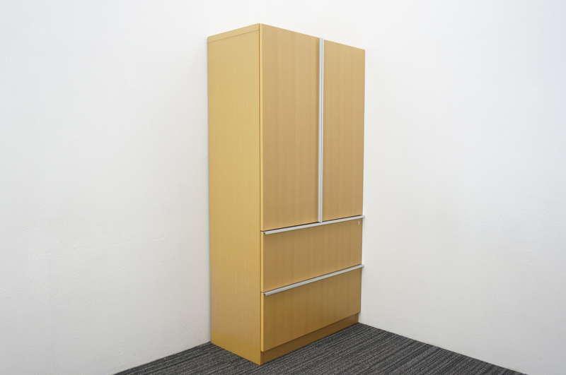 イトーキ X19 木製書棚 W900 D450 H1800 オーク
