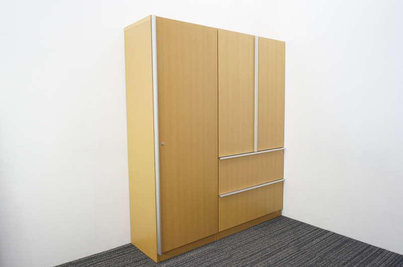 イトーキ X19 木製ワードローブ+書棚 H1800