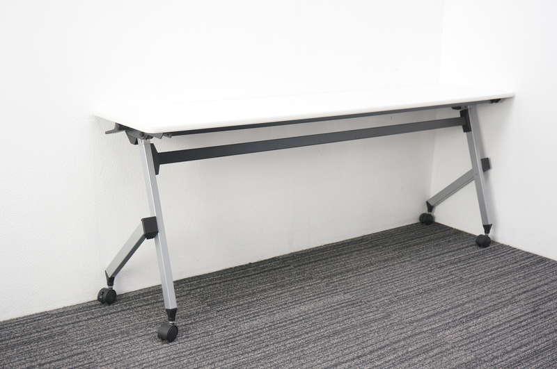 イトーキ HX フラップテーブル 1845 ホワイト