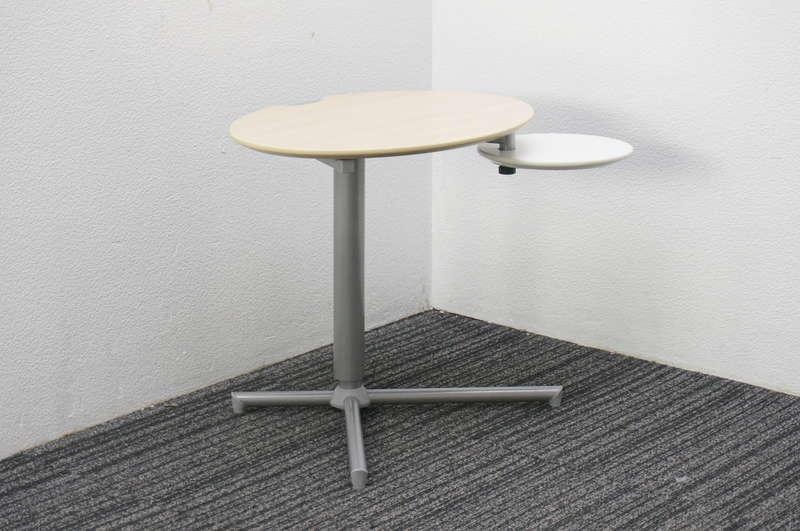オカムラ パソランドリップル サブテーブル W654 D529 H500-700