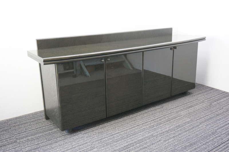 オカムラ ニューフォーティ 木製サイドボード W2000 D530 H820