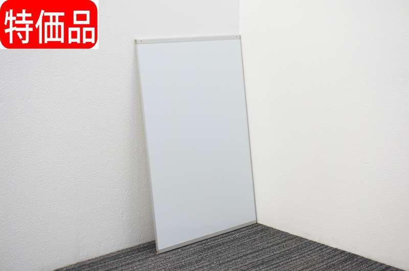 オカムラ アルトトーク マグネット式ホワイトボード 無地 W600 D12 H900 特価品