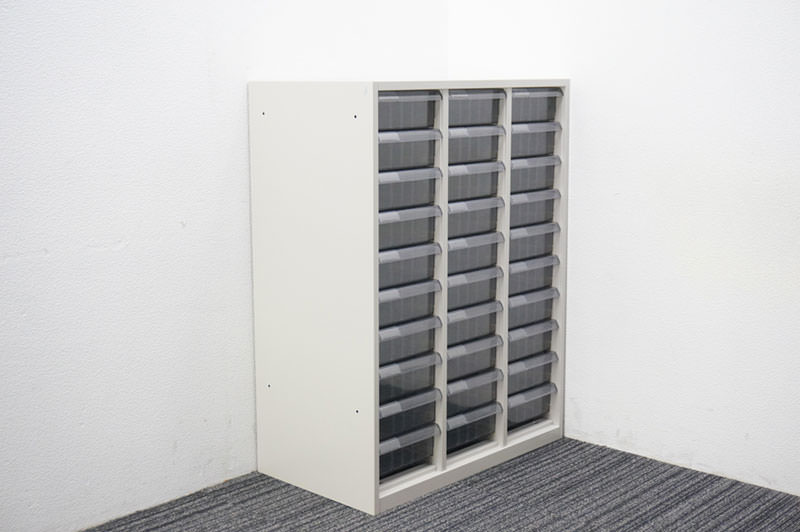 オカムラ SA 書類整理庫 3列10段 A4 深型 W800 D450 H1060