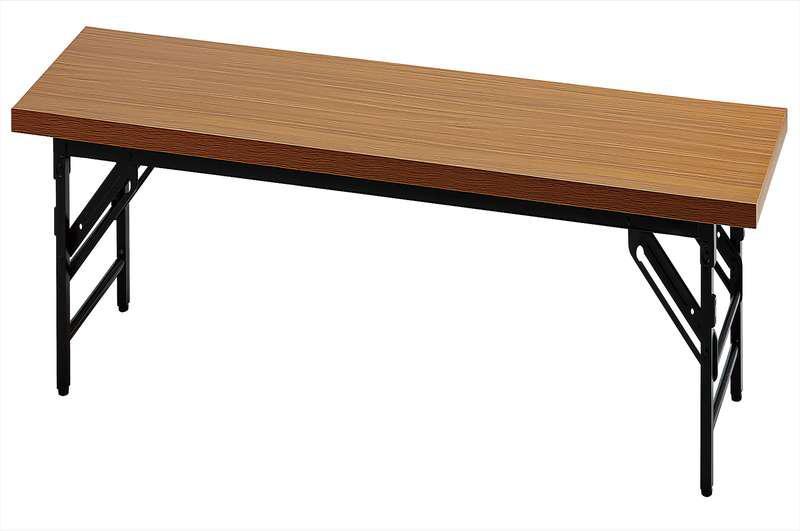 【新品 メーカー直送のみ 代引き不可 天板カラー2色】イノウエ UMT 座卓折りたたみテーブル 1845