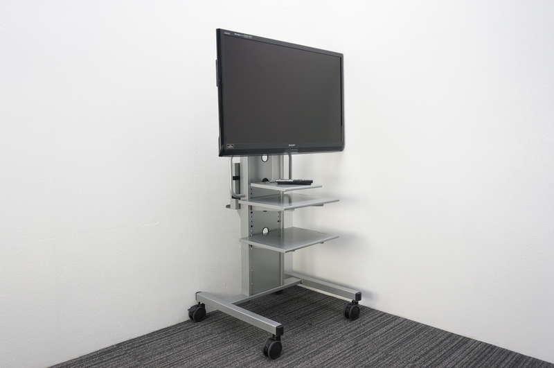 シャープ アクオス 液晶カラーテレビ 46型 2011年製 + 移動式ディスプレイスタンド付
