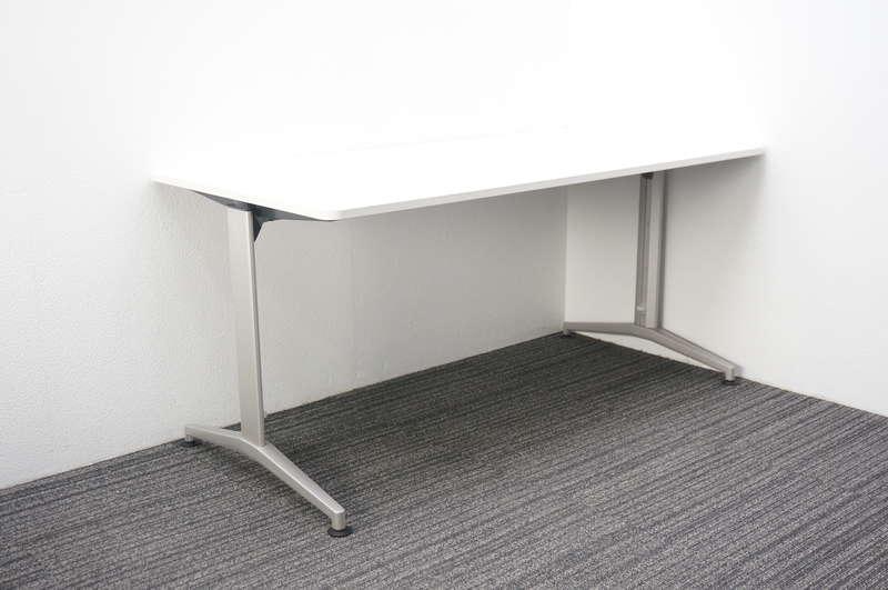 イトーキ DE ミーティングテーブル 1575 T脚 ホワイト