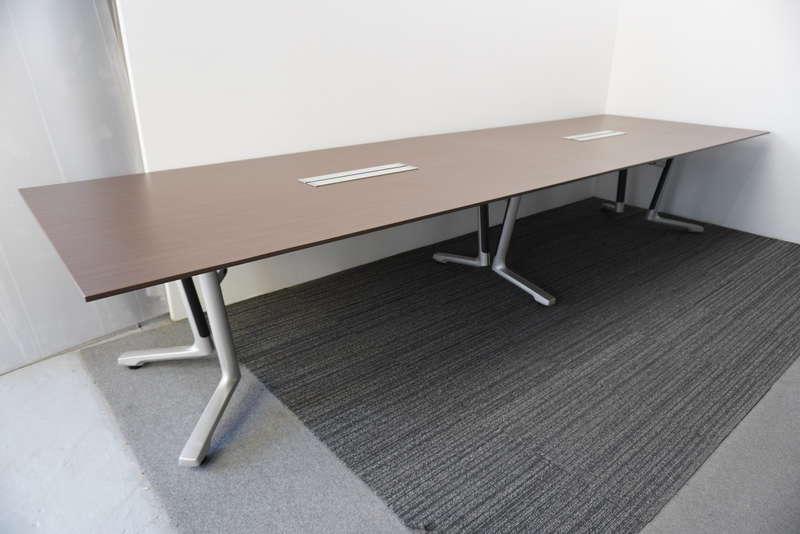 イトーキ DF ミーティングテーブル 4012 ファインウォールナットD