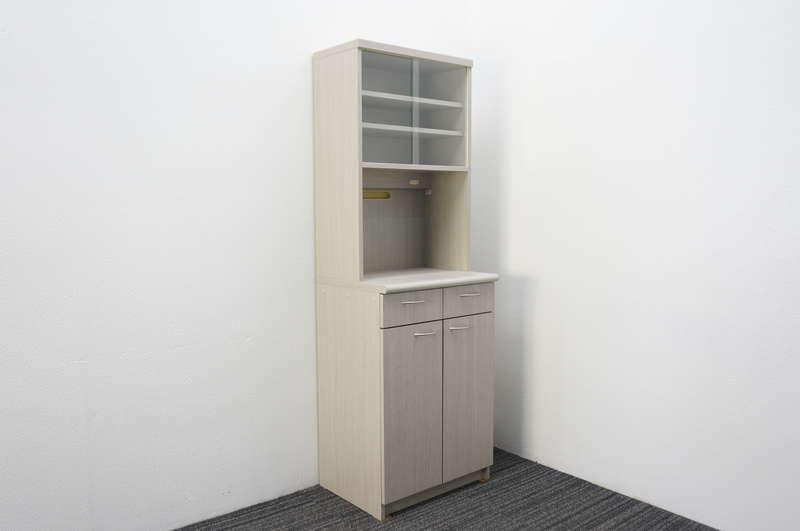 プラス 木製ビジネスキッチン W600 D465 H1800